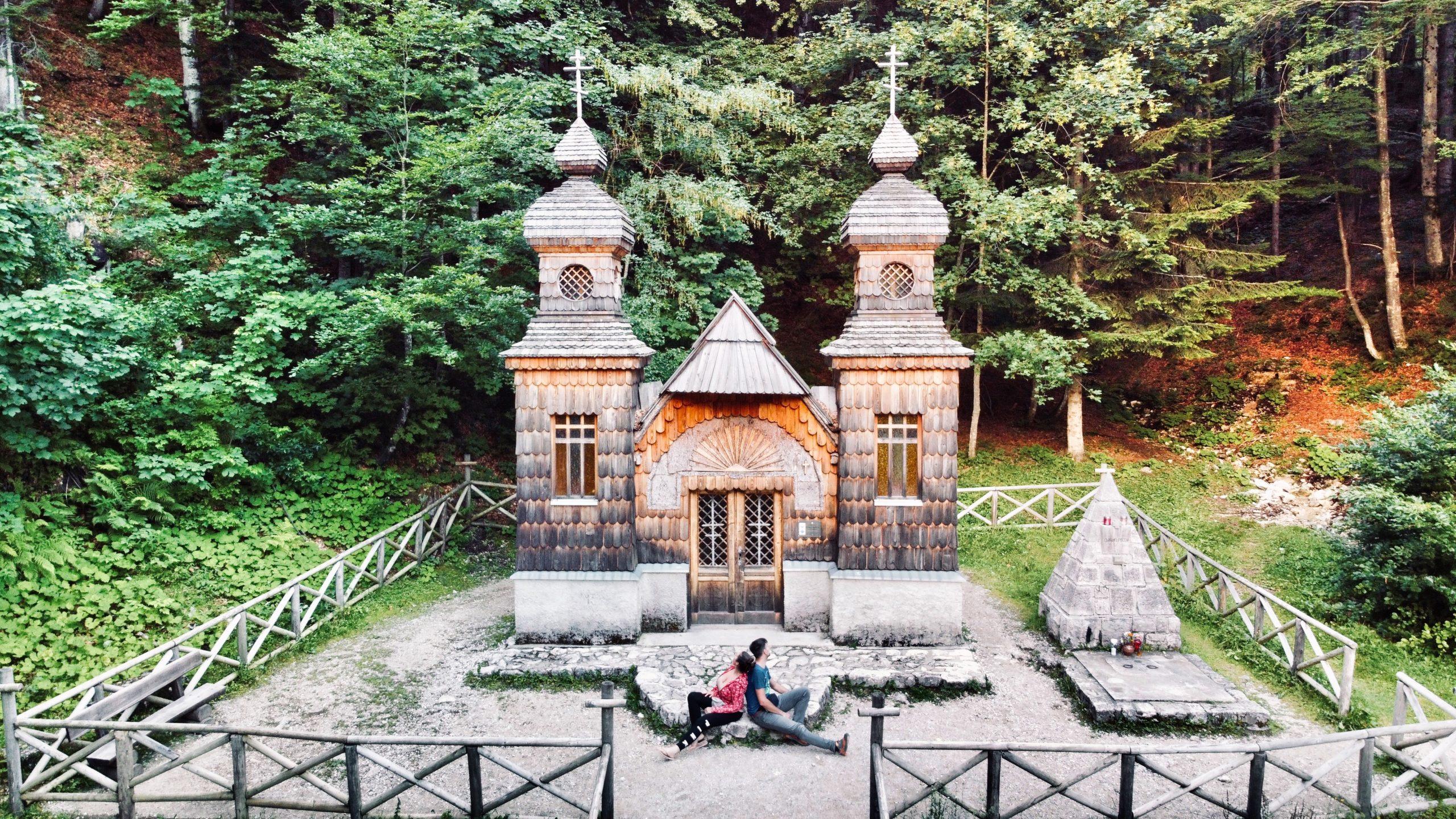 chapelle russe vrsic russian chapel ruska kapelica