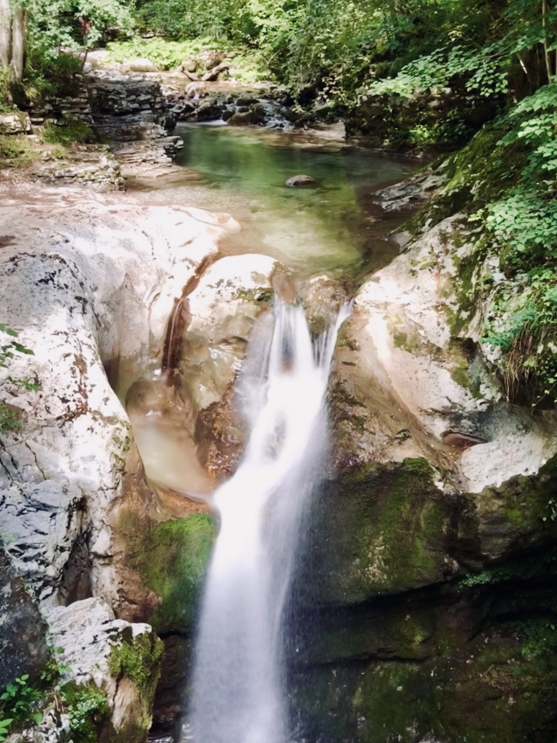 slap kozjak cascade waterfall