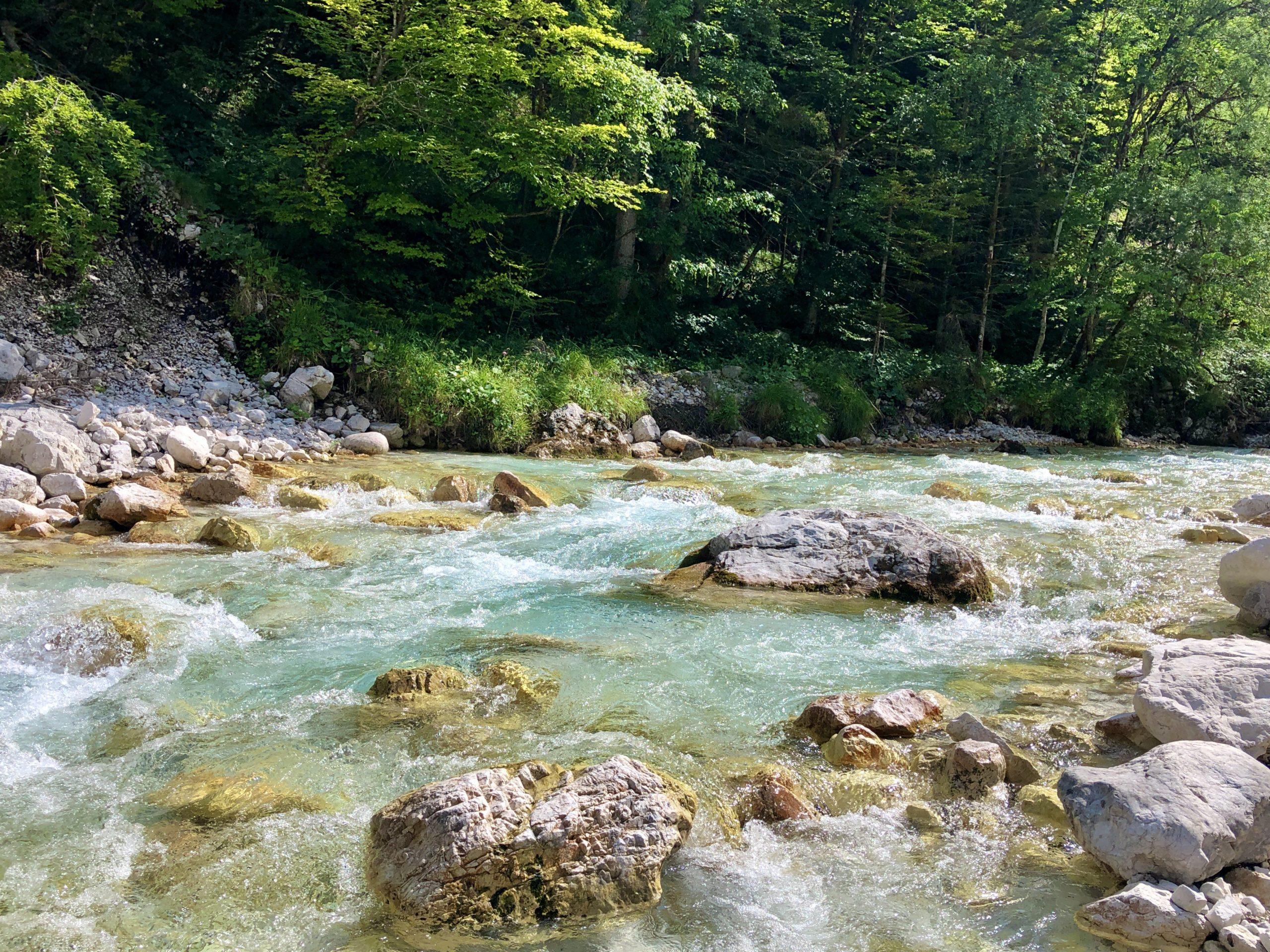 soca river rivière vallée valley